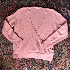 Madewell Cozy Pink Sweater • size XL